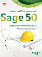Sage 50 Construction Accounting Features (formerly Peachtree)