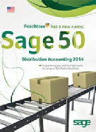 Sage 50 Distribution Accounting Features (formerly Peachtree)