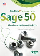 Sage 50 Manufacturing Accounting Features (formerly Peachtree)