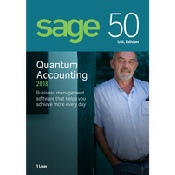 Sage 50 Quantum Accounting Features (formerly Peachtree)