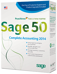 Sage 50 Complete Accounting 2014 box shot
